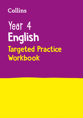 Year 4 English Targeted Practice Workbook (Collins KS2 SATs Revision and Practice) Cover Image