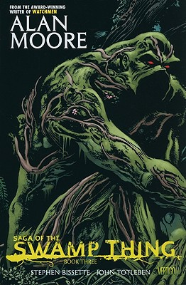 Saga of the Swamp Thing Book Three Cover