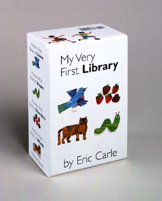 My Very First Library: My Very First Book of Colors, My Very First Book of Shapes, My Very First Book of Numbers, My Very First Books of Words Cover Image