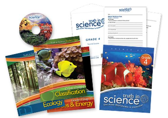 Truth in Science - Grade 4 - Student Steps Total Package Cover