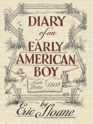 Diary of an Early American Boy: Noah Blake 1805 (Dover Books on Americana) Cover Image
