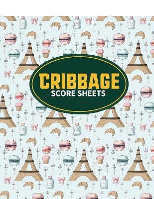 Cribbage Score Sheets Cover Image