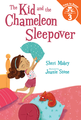 The Kid and the Chameleon Sleepover (The Kid and the Chameleon: Time to Read, Level 3) Cover Image