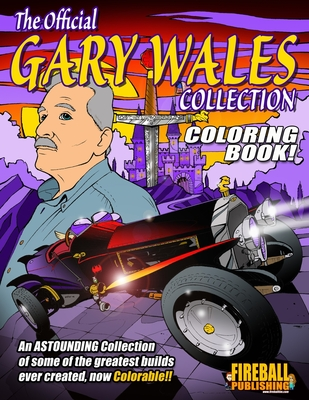 The Official GARY WALES Collection Coloring Book Cover Image
