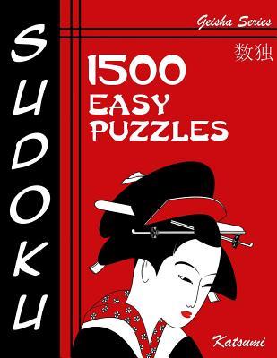 Sudoku 1500 Easy Puzzles: Geisha Series Book Cover Image