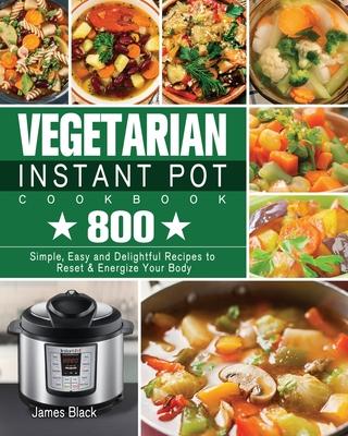 Vegetarian Instant Pot Cookbook Cover Image