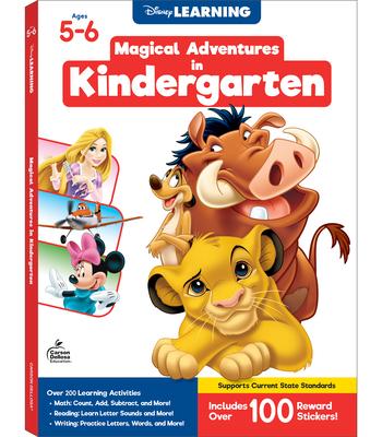 Disney/Pixar Magical Adventures in Kindergarten Cover Image