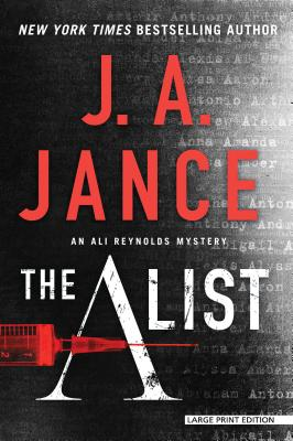 The a List (Ali Reynolds Novel) Cover Image