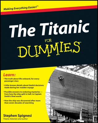 The Titanic for Dummies Cover