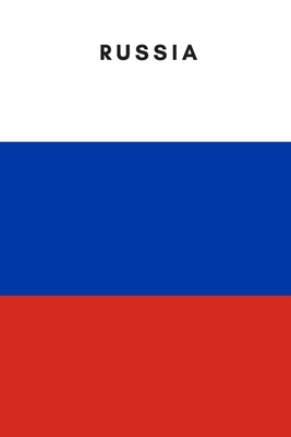 Russia: Country Flag A5 Notebook to write in with 120 pages Cover Image