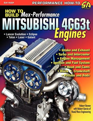 How to Build Max-Performance Mitsubishi 4g63t Engines Cover Image
