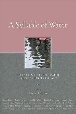 A Syllable of Water Cover