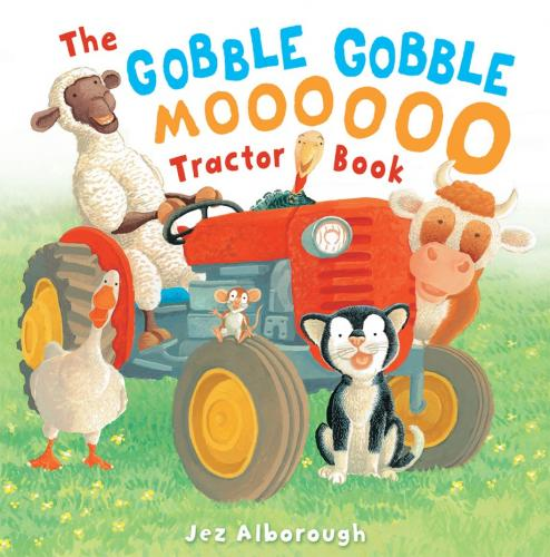 The Gobble, Gobble, Moooooo Tractor Book Cover