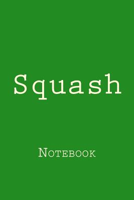 Squash: Notebook Cover Image