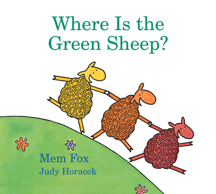 Where Is the Green Sheep? (padded board book) Cover Image