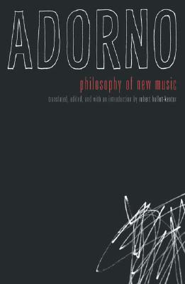 Philosophy of New Music Cover Image