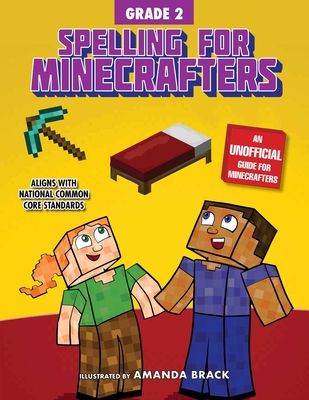 Spelling for Minecrafters: Grade 2 Cover Image