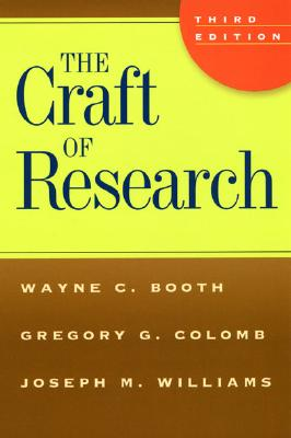 The Craft of Research Cover Image