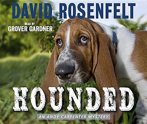 Cover for Hounded (Andy Carpenter Novels)