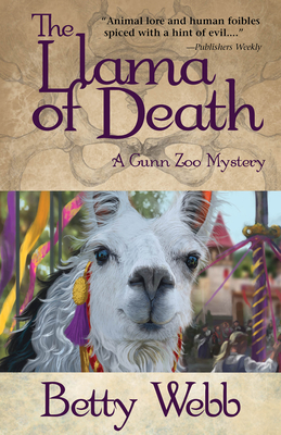 The Llama of Death (Gunn Zoo Mysteries) Cover Image