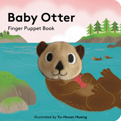 Baby Otter: Finger Puppet Book Cover Image