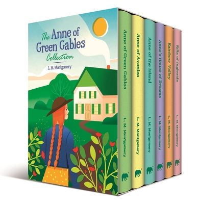 The Anne of Green Gables Collection: Slip-Cased Edition Cover Image