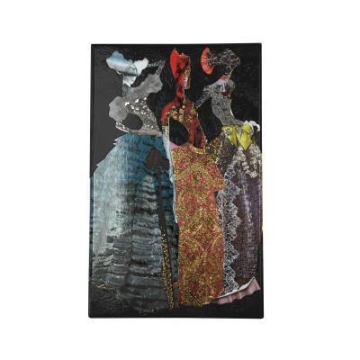 Christian Lacroix Les Madones Diecut Boxed Notecards Cover Image