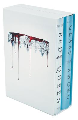 Red Queen 2-Book Hardcover Box Set: Red Queen and Glass Sword Cover Image