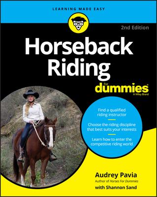 Horseback Riding for Dummies Cover Image