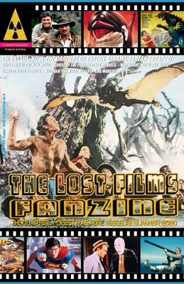 The Lost Films Fanzine #2: (Color Edition/Variant Cover A) Cover Image
