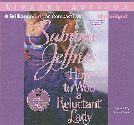 How to Woo a Reluctant Lady [With Bonus Disk] (Hellions of Halstead Hall #3) Cover Image