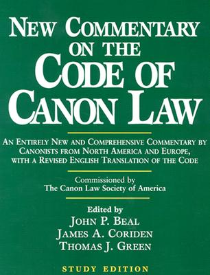 New Commentary on the Code of Canon Law (Study Edition) Cover Image