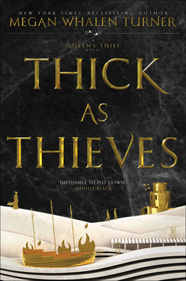 Thick as Thieves (Queen's Thief #5) Cover Image