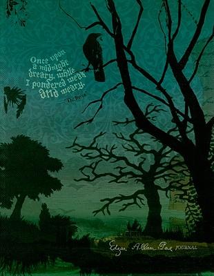 Edgar Allan Poe Flexi Journal Cover