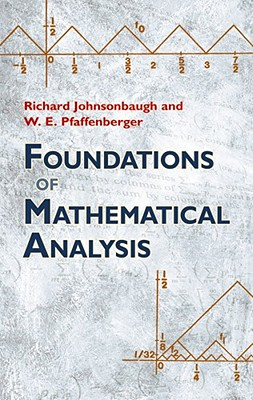 Foundations of Mathematical Analysis (Dover Books on Mathematics) Cover Image