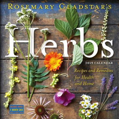 Rosemary Gladstar's Herbs Wall Calendar 2019 Cover Image