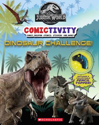 Dinosaur Challenge! (Jurassic World: Comictivity) Cover Image