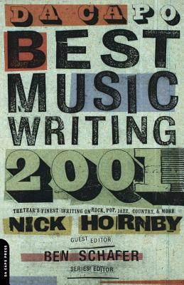 Da Capo Best Music Writing 2001 Cover