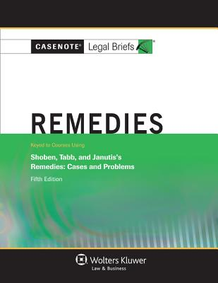 Remedies: Shoben Tabb & Janutis 5e Cover Image