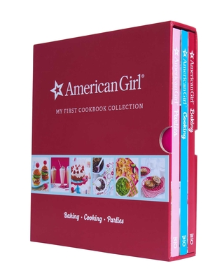 American Girl My First Cookbook Collection (Baking, Cookies, Parties) Cover Image