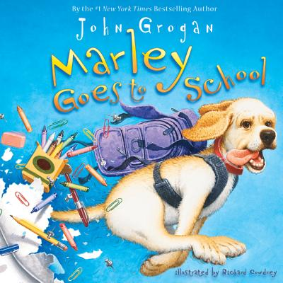 Marley Goes to School Cover