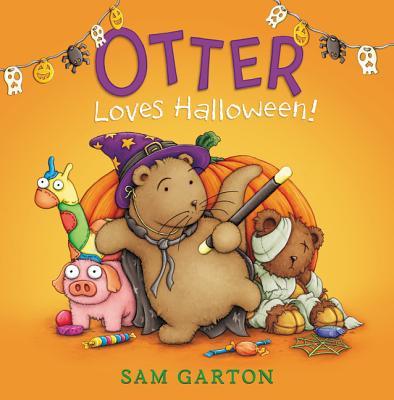 Otter Loves Halloween! Cover Image