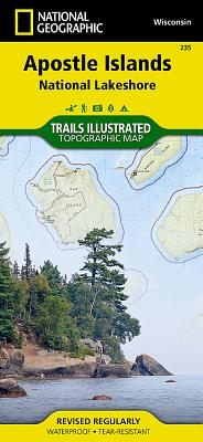 Apostle Islands National Lakeshore (National Geographic Maps: Trails Illustrated #235) Cover Image