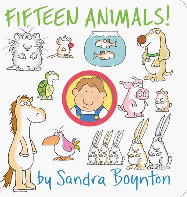 Fifteen Animals! (Boynton on Board) Cover Image