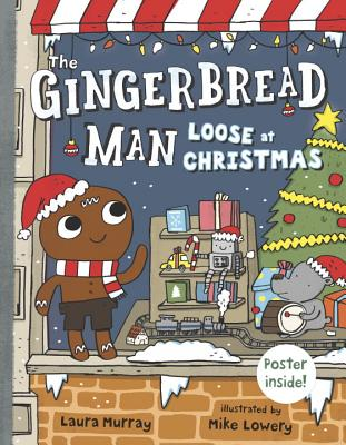 The Gingerbread Man Loose at Christmas Cover Image