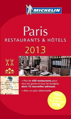 Michelin Guide Paris [With Map] Cover