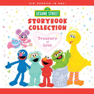 Sesame Street Storybook Collection: Treasury of Love (Sesame Street Scribbles) Cover Image