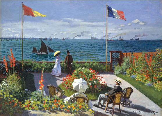 Puzzle Garden at Sainte-Adresse Cover Image