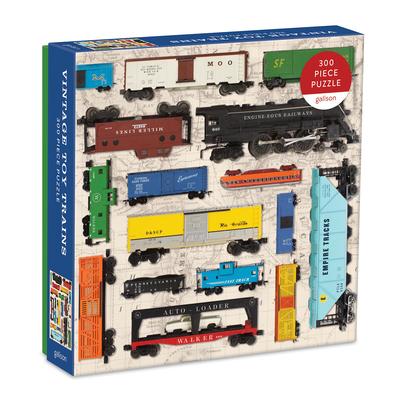 Vintage Toy Trains 300 Piece Puzzle Cover Image