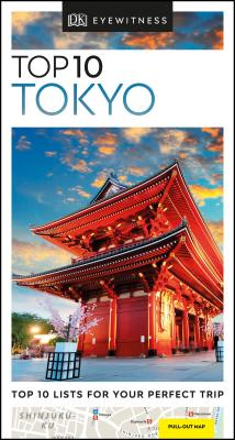 DK Eyewitness Top 10 Tokyo (Pocket Travel Guide) Cover Image